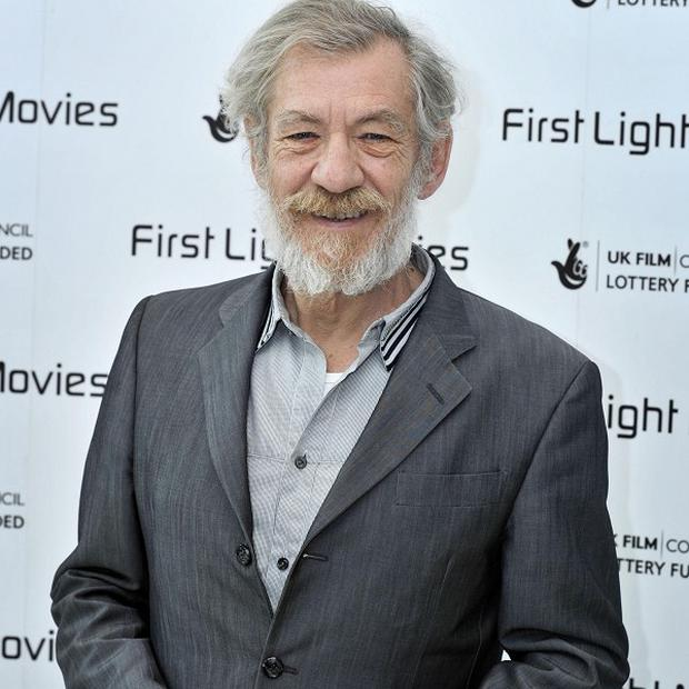 Sir Ian McKellen is happy with how his career has worked out