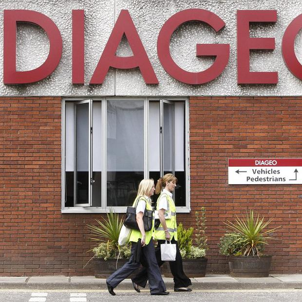 Drinks giant Diageo has hailed its performance in emerging markets after a rise in profits