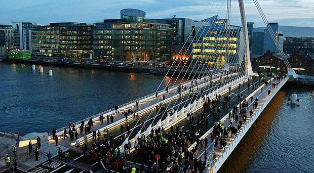 The body of a man has been recovered from the River Liffey