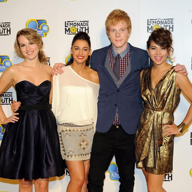 The cast of Lemonade Mouth are happy to be compared to High School Musical