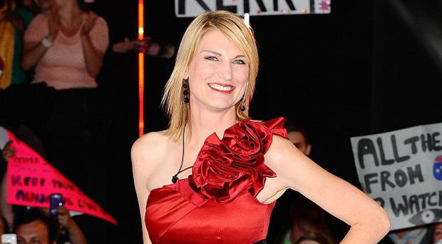 Sally Bercow is evicted from the Big Brother House