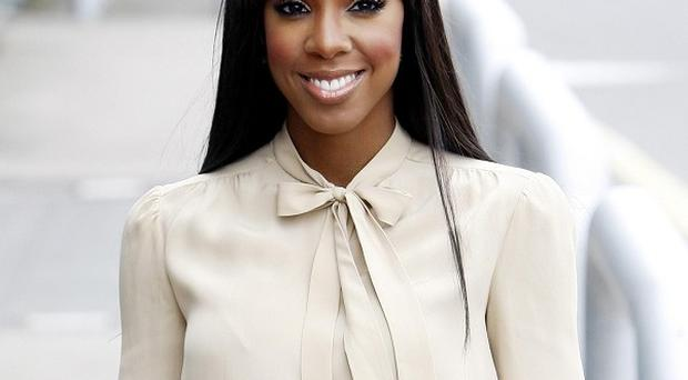 Kelly Rowland got a bit distracted during the audition