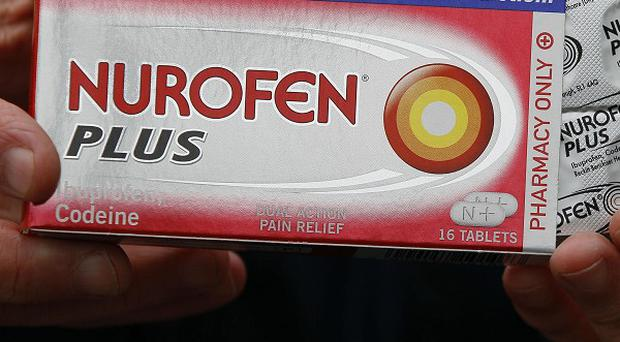 Consumers have been urged to return any packs of Nurofen Plus to a pharmacy