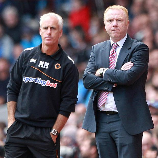 Mick McCarthy (left) and Alex McLeish