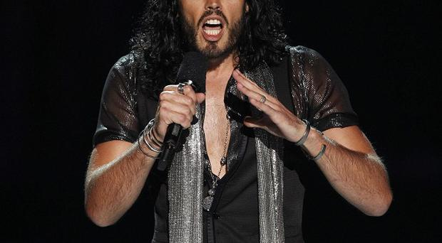 Russell Brand led the tributes to Amy Winehouse at the MTV Video Music Awards (AP)