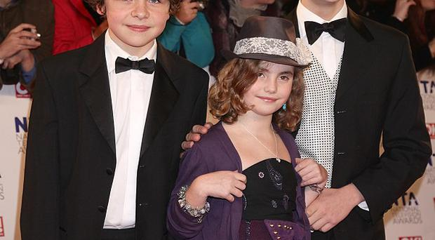 Tyger Drew-Honey, pictured with co-stars Daniel Roche and Ramona Marquez, thinks a US version of the show could work