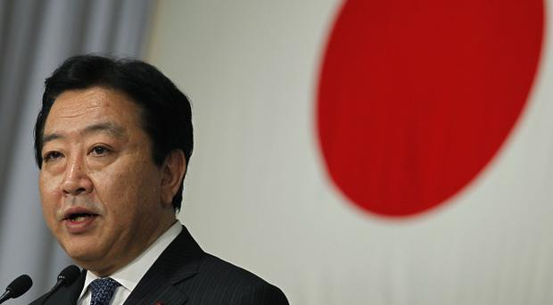 New leader of the Democratic Party of Japan Yoshihiko Noda (AP)