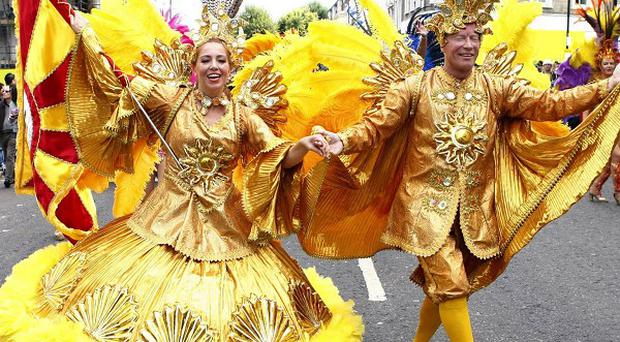 A man is in a serious condition in hospital after being stabbed at the Notting Hill Carnival