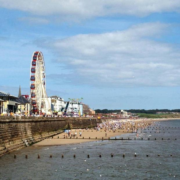 A grandmother and grandchild were injured on a fairground ride in Bridlington, East Yorkshire