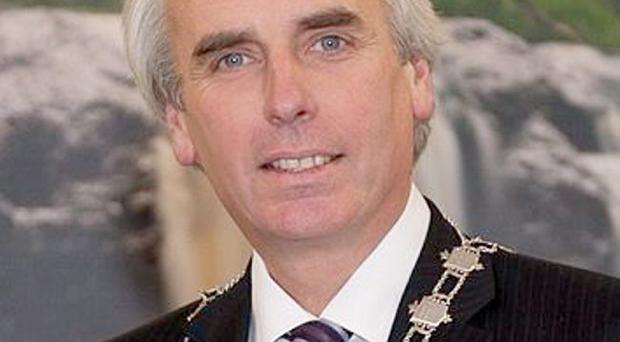 Law Society president Brian Speers