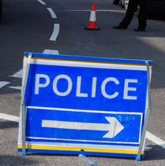A baby is believed to have escaped injury in a road accident in Belfast