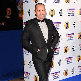 Louie Spence has previously been a guest contributor on the show