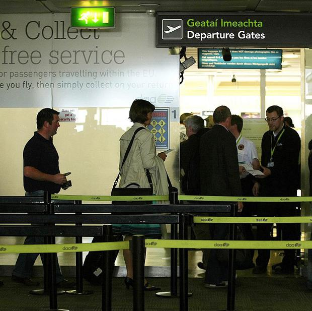 A full-body scanner is to be used on staff at Dublin Airport under plans to test the controversial security equipment
