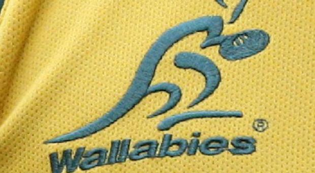 Wallabies badge