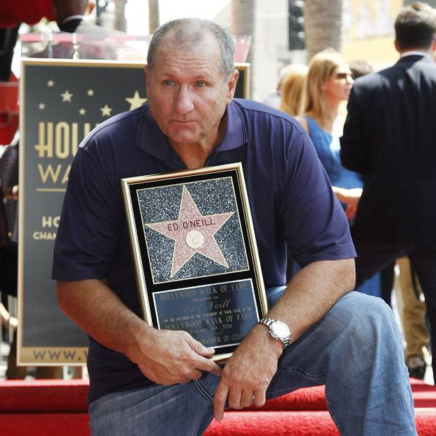 Actor Ed O'Neill has received a star of the Hollywood Walk of Fame in Los Angeles (AP)