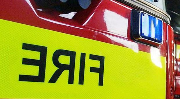 Firefighters have rescued 22 people from a fairground ride in Skegness