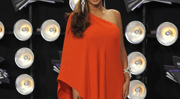 Beyonce arrives for the MTV Video Music Awards in Los Angeles (AP)