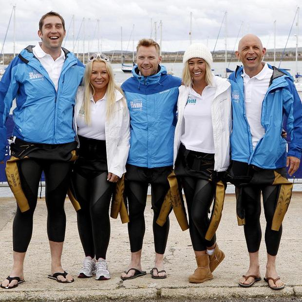 Ronan Keating joins Steve Parry, Pamela Stevenson, Jenny Frost and Jason Bradbury