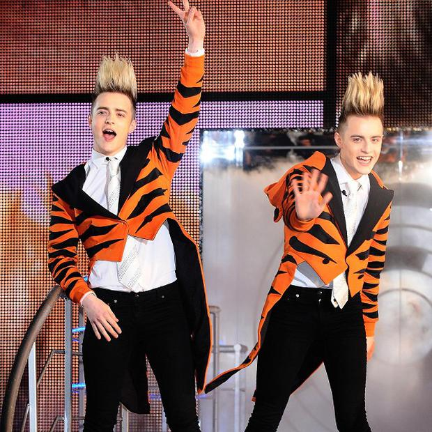 Jedward were ordered to clear up the mess they created
