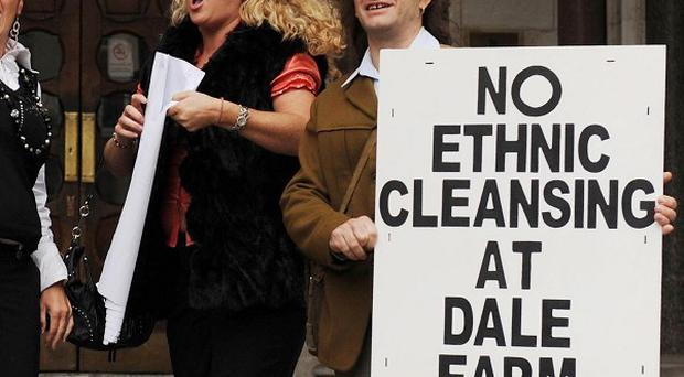 Lawyers have failed in a last-ditch attempt at the High Court to prevent the eviction of traveller families from the Dale Farm site in Essex