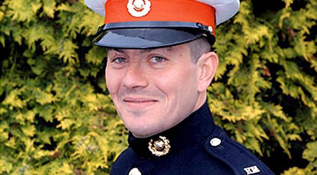 Royal Marine Sergeant Barry Weston was killed in southern Afghanistan
