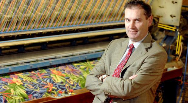 Nick Coburn, managing director of Ulster Carpets