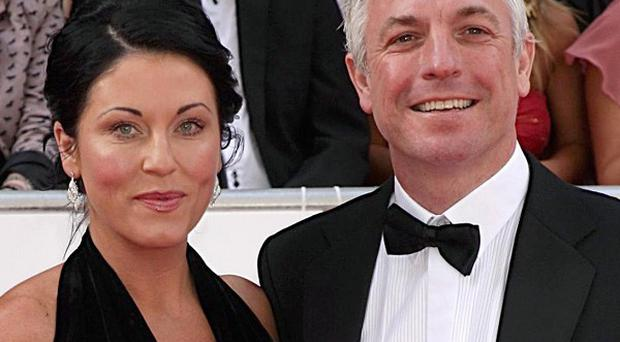 Jessie Wallace's former fiance Vince Morse admitted sending an explicit image of the actress to his ex-girlfriend