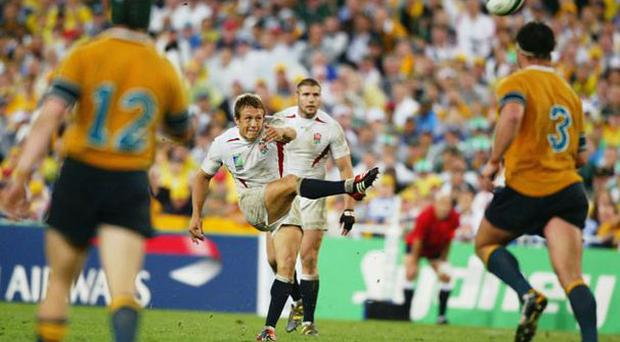 <b>WILKO BREAKS AUSTRALIAN HEARTS ONCE MORE...</b><br/> It hardly needs repeating but Jonny Wilkinson's extra-time drop-goal against Australia in the 2003 Rugby World Cup final still remains one of the iconic moments in the history of the tournament. Wilko's effort came just twenty-six seconds before the end of extra-time and effectively ended the contest, handing England a 20-17 victory and sending the country into ecstasy. The bonanza which met the squad's return to English soil was quite incredible.