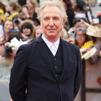 Severus Snape. played by Alan Rickman, has beaten the young wizard to be named the most popular character from the Harry Potter novels