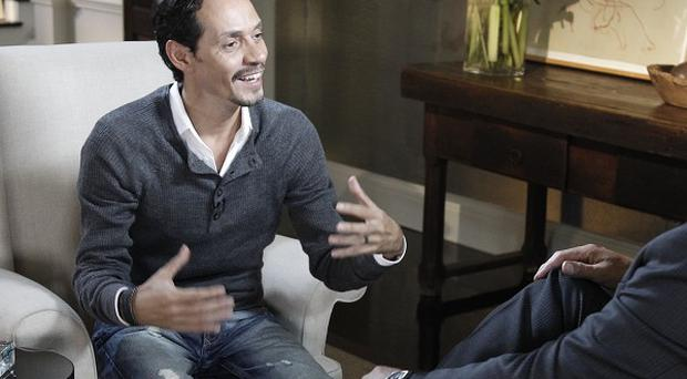 Marc Anthony talks about his split from Jennifer Lopez (AP/ABC)