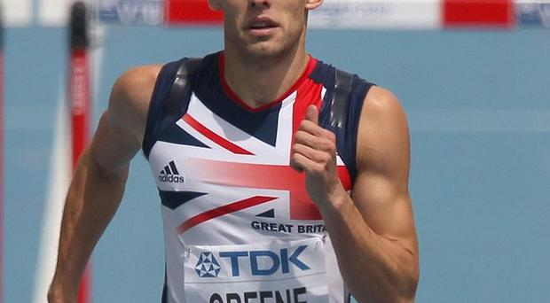 Dai Greene is the first member of the British team to win gold at this year's IAAF World Championships