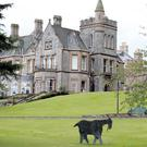 The stunning grounds of the Culloden Hotel at Cultra