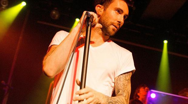Adam Levine enjoyed the chance to show off his personality