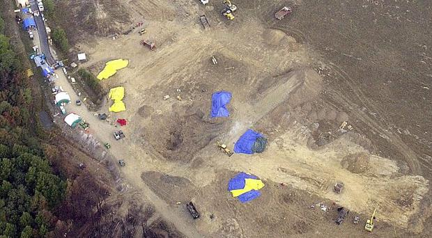 Relatives of those who died on United 93 will hold a private funeral service at the Pennsylvania crash site (AP)