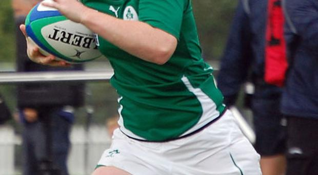 Ulster and Ireland's Eliza Downey in action in the 2010 Women's World Cup against Scotland