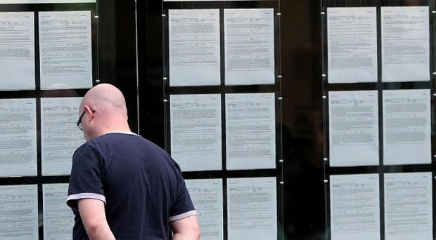 There were about 500 fewer people signing on the dole in August, figures show