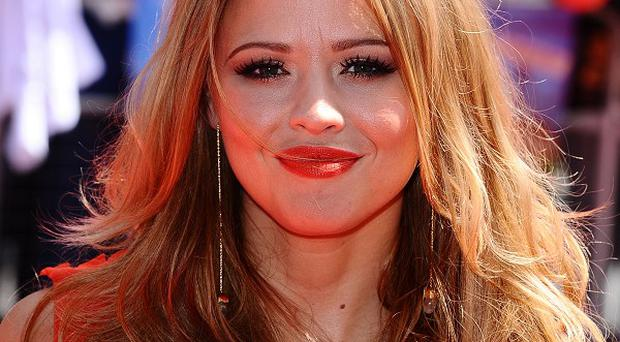 Kimberley Walsh recently visited Cheryl Cole in LA