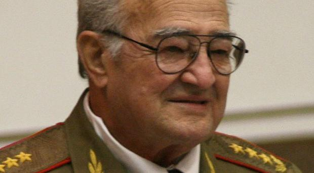 General Julio Casas Regueiro oversaw the Cuban military's lucrative economic enterprises for many years (AP)