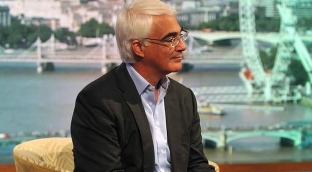 Alistair Darling said he had a personal loyalty to Gordon Brown, going back many years, which stopped him from acting (Jeff Overs/BBC/PA)