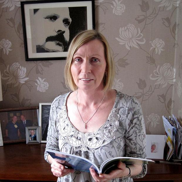 Linda Ervine, a relative of the former loyalist leader David Ervine, has revealed she has started to learn the Irish language