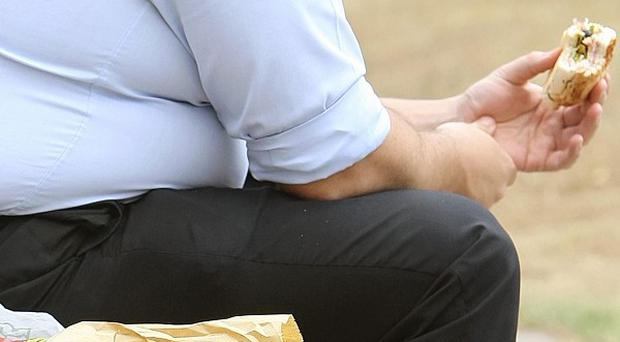 More than a third of Britons aged between 45 and 54 are obese, according to a study by Bupa Health Pulse