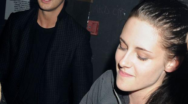 Kristen was spotted at the Resistance 3 launch