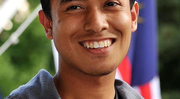 Malaysian student Ashraf Rossli was assaulted during the London riots
