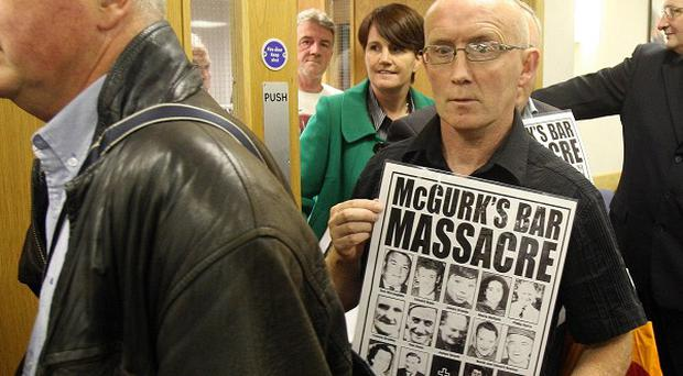 Supporters of the McGurks pub bombing victims have threatened legal action against Chief Constable Matt Baggott
