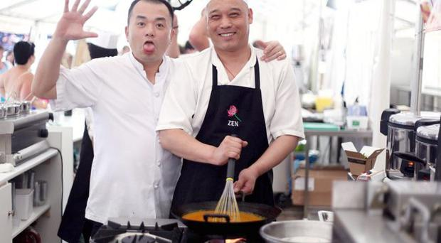 Kit Chu and Leon Liang from Hakka Noodle