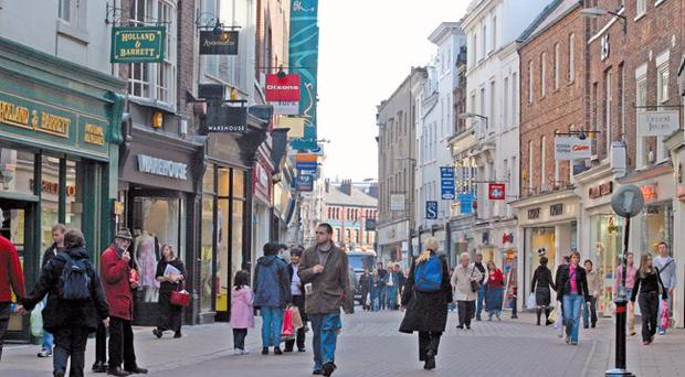 A survey by the British Retail Consortium has found that 17.1% of retail units in Northern Ireland were lying vacant in May of this year — the highest rate of any UK region, of which the average is 11.2%
