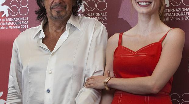 Jessica Chastain was Al Pacino's inspiration for Salome