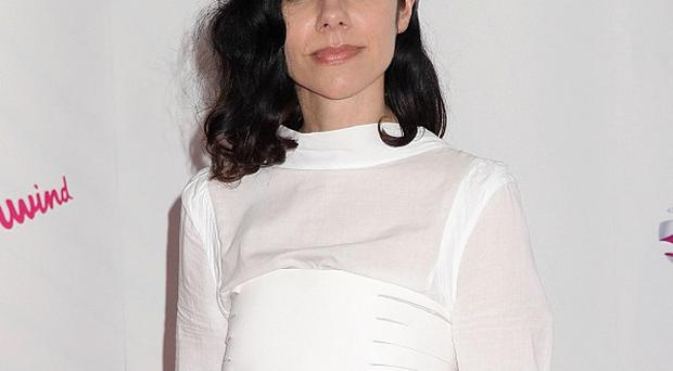 PJ Harvey arriving for the 2011 Barclaycard Mercury Music Prize at the Grosvenor House Hotel, London. PRESS ASSOCIATION Photo. Picture date: Tuesday September 06, 2011. Photo credit should read:Yui Mok/PA Wire