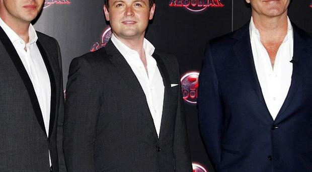 Ant and Dec host Simon Cowell's ITV1 gameshow Red Or Black?