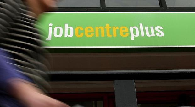 The jobs market is showing worrying signs of falling back to pre-recession levels, a survey showed